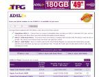 TPG ADSL2+ $59.95 - 500GB with 1Mbps Shaping