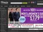 12% off and 5 or 10 Pound off TM Lewin (Business Apparel)