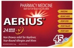 Aerius 5mg 45 Tablets - $21.95 (Free Click and Collect or $5 Postage) @ Blackshaws Road Pharmacy [VIC]