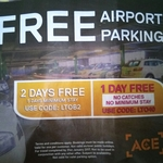 MEL Ace Airport Parking - 1 Day Free (No Min Stay) | 2 Days Free (5 Days Min Stay) |