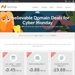 Namecheap Hosting US$0.88 for First Year (Usually $9.88 or 91% off) (One Hour Cyber Monday Deal)