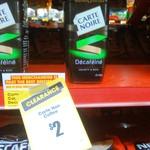 Carte Noire DéCaféiné 100g Jars $2 @ The Reject Shop