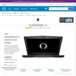 Alienware 15 R3 Laptop GTX1070 / i7 6700HQ / 16GB RAM / 256GB SSD / 1TB HDD/ Win 10 Home - $2639 ($660/20% off) Delivered @Dell
