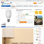 Xiaomi Yeelight White LED Smart Wi-Fi Light $10.29 AUD Delivered @ DealExtreme
