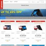 Upto 45% off 4 Day Sale @Lenovo - E470 i7 16GB/256GB $969, T460s i5 8GB/256GB $1349, P50s i5 8GB/256GB $1349