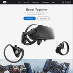 Oculus Rift + Touch $648 USD Delivered (~ $851 AUD)