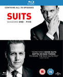 Suits Seasons 1 - 5 Blu Ray Boxset £25.98 (~AUD $42.23) Delivered @ Zavvi UK (was $129)