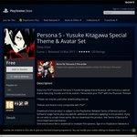 Persona 5 PS4 Theme Free
