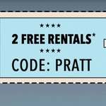 2 Free Rentals @ VideoEzy/ Blockbuster Kiosks