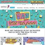 $9.95 / Year .COM.AU Domain Names, 80% off cPanel Web Hosting, $20,000 Giveaway @ VentraIP Australia