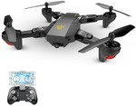 VISUO XS809W 2.4g Foldable RC Quadcopter USD $46.99 ($63.47 AUD) @ Tomtop