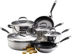 Circulon Steel Elite 6 Piece Cookware Set - $233 + Free Shipping (Was $399.95) @ Cookware Brands