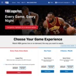 NBA League Pass 2017-2018: ~$109AUD via Mexico VPN ($299 Locally)