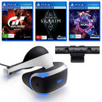 PlayStation VR + PS4 V2 Camera + VR Worlds + Gran Turismo Sport & Skyrim VR - $383.20 Delivered @ The Gamesmen eBay