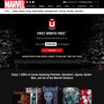 Marvel Unlimited - First Month Free