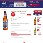 Samuel Adams Boston Lager 24pk or Chivas Regal Extra 700mL $50 + 2000 Flybuys Points + More @ First Choice - Click & Collect