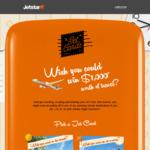 Win 1 of 10 Jetstar Flight Vouchers Worth $1,000 Each [Upload Photo + 25wol]