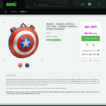 Captain America Backpack extra 30% discount from $108 down to $39.90 @ Zing plus more