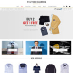 Buy 2, Get 1 FREE on Any Items | Suits, Shirts, Sport Coats & Casual. STAFFORD ELLINSON