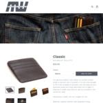Minimalist Wallets $15 Sale - 6 Card Slim Leather Wallet $15 Shipped