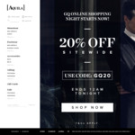 Aquila - 20% off Sitewide (Includes Sale Items) - Today Only - GQ Shopping Night