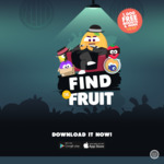 """Win 1 of 1000 Boost Juices or Various Vouchers Daily - Play """"Find The Fruit"""" App (iOS/Android)"""