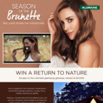 Win a Glamping Experience at Nightfall Worth $3,000 +/- 1 of 56 Klorane Shampoos from Pierre Fabre