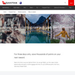 50% off Selected International Qantas Flight Rewards Using Qantas Points