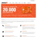 Jetstar MasterCard 20K Bonus Qantas Points with $2000 Spend/First 60 Days $29 Annual Fee/1st Year $30 QFF Rewards Fee/Yr