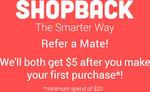 $2 Cashback on Uber Rides @ ShopBack App