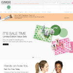 Clinique - 12.5% Cashback via Cashrewards/ShopBack + Free Delivery by Joining + Westpac Cashback ($25 off $125+ Spend)