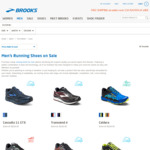 Brooks Shoes Sale Items from $69.95 Various Styles, Male & Female Free Shipping