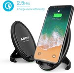 30% off Wireless Quick Charger, 2 Coils Qi Portable Charging Pad Stand $20.99 @ Goobang Doo Amazon AU