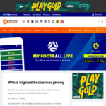 Win a Signed 2018 Socceroos Home Jersey Worth $500 from Football Federation Australia