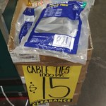 1000 UV Resistant Cable Ties for $10-$15 at Bunnings