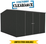 Absco Premiere Shed 3x 3 Matt Black $399 Delivered from SimplySheds