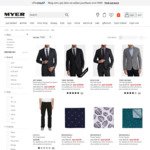 Extra 25% off Already Reduced Men's Clothing and Footwear, Selected Men's Boots 40% Off @ Myer