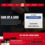 "Hungry Jack's ""Shake and Win"" App (Update) Free Whopper on Your Birthday and Mobile Ordering Select Stores."