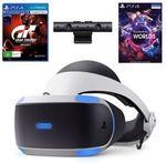 PlayStation VR (V2) with Camera & VR Worlds + GT Sport Bundle $296.10 ($279.65 with eBay Plus) Delivered @ The Gamesmen eBay