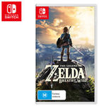 Nintendo Switch: The Legend of Zelda: Breath of The Wild $67.65 + Delivery (Free with eBay Plus) @ Catch