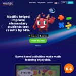 FREE 12 Months Access to Matific Galaxy Maths Games