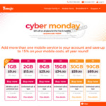Yomojo Cyber Monday Extended Sale 50% off on All Mobile Plans for The First 3 Months