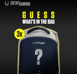 Win 1 of 3 ZOTAC Gaming Backpacks Containing 10 Items Worth Over $1,400 from ZOTAC