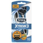 Schick Xtreme 3 Sensitive Disposable Razor with Aloe 10 Pack $4.74 @ Coles