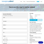Newsgroup Direct - Unlimited Usenet US $17 (~AU $24) for 6 Months