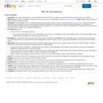 3% off Everything (Min Spend $50, Max Discount $100) @ eBay