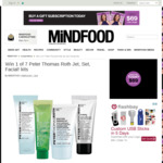 Win 1 of 7 Peter Thomas Roth Jet, Set, Facial! Kits Worth $38 from MiNDFOOD