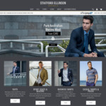 Further 25% off All Menswear | Suits & Wool Jackets from $149.25 @ Stafford Ellinson