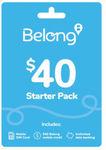 Belong $40 Starter Kit Buy 2 or More 40% off ($12.48ea) + Delivery [Free with eBay Plus] @ Allphones eBay