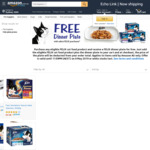2 x Felix Cat Food 60x85g Boxes + 2 x Felix Dinner Plates From $54.78 Delivered @ Amazon AU